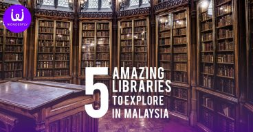 5 Amazing Libraries in Malaysia Gothic Library Background