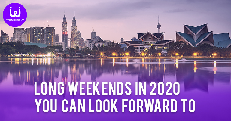 Long weekends in 2020 you can look forward to