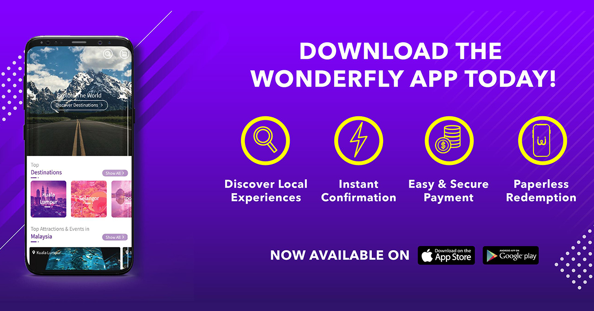 Wonderfly Mobile Application available on Android and iOS