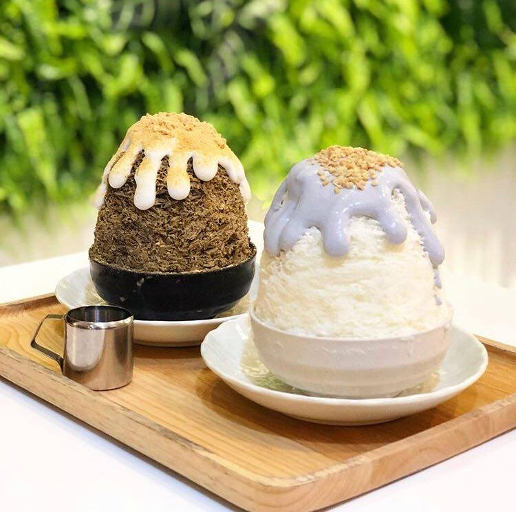 Mount Fuji and Chocolate Kakigori at Mykori SS15