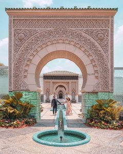 The archway in the Astaka Morocco