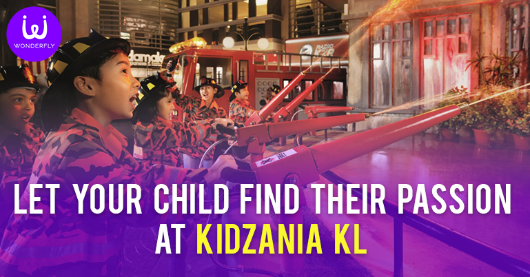 Let your child find their passion at KidZania KL