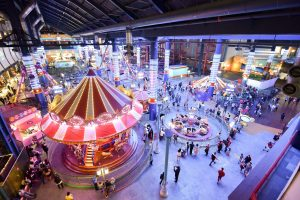 The indoor theme park 'Skytropolis' in Genting Highlands