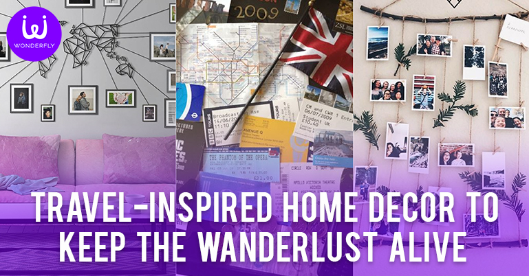 Travel-Inspired Home Décor to Keep the Wanderlust Alive