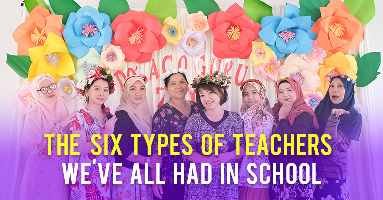 The six types of teachers we've all had in school