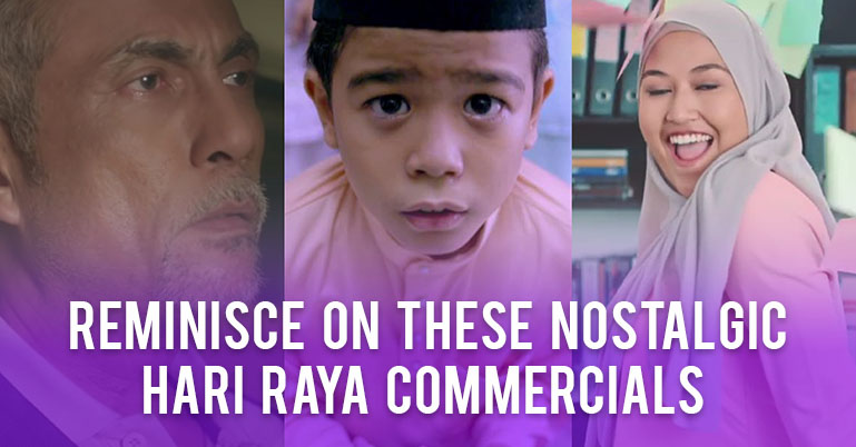 minisce on these nostalgic Hari Raya commercials from the past decades