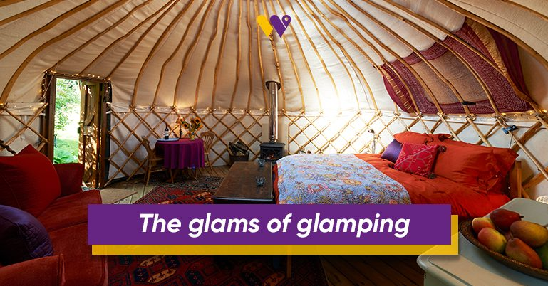 The glams of glamping – Why you should consider Glamping as your next trip