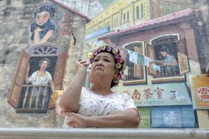 Depiction of Kung Fu Hustle's landlady is one of Kwai Chai Hong's famous artwork