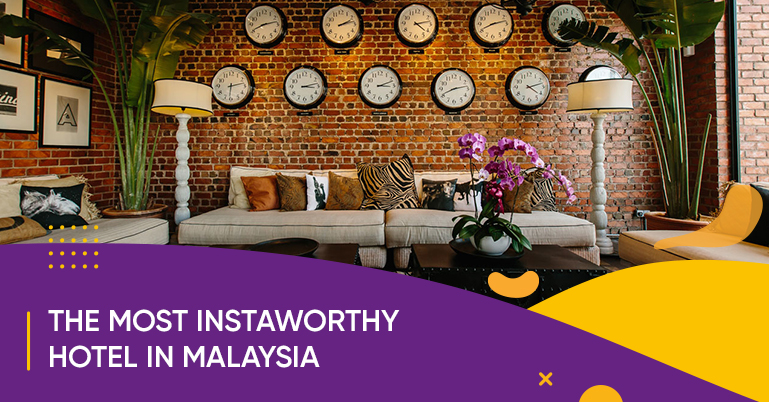 The Rosa Hotel Malacca might just be the most Instaworthy hotel in Malaysia