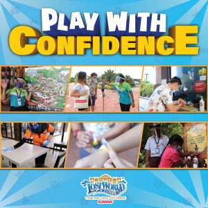 Lost world of Tambun - Play with confidence