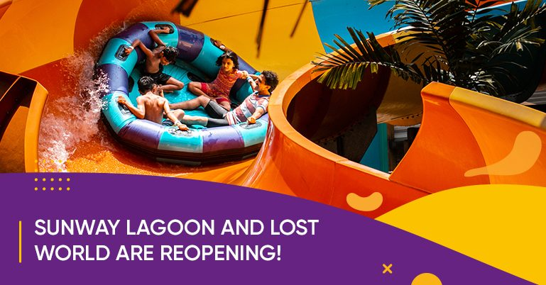 Sunway Lagoon and Lost World are reopening!