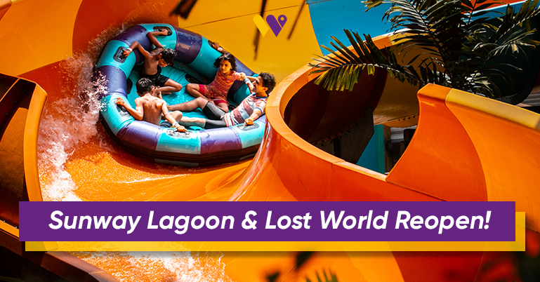 Sunway Lagoon and Lost World are reopening! Here are the SOP's and health measurements so you know what to expect