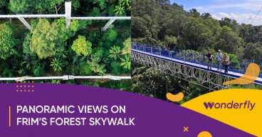 FRIM's Forest Skywalk offers spectacular panoramic views of the jungle