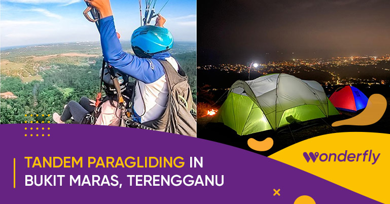 This Paragliding Spot in Bukit Maras Will Give you the Best views of Terengganu