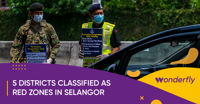 5 districts now classified as COVID-19 red zones in Selangor