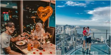 Dine with extravagant city views at the TOP of Penang's tallest high-rise