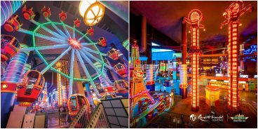 Restart your adventures with_ The glitzy lights and thrill rides of Skytropolis Indoor Theme Park